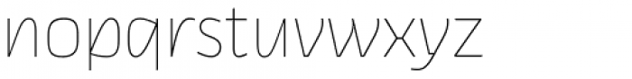 Thicker Thin Upright Font LOWERCASE