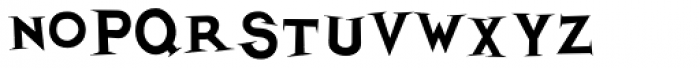 Thik Font UPPERCASE