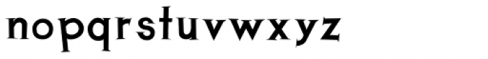Thik Font LOWERCASE