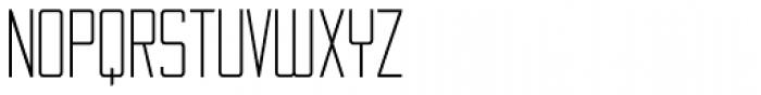 Thin Mint JNL Font UPPERCASE