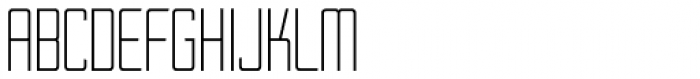 Thin Mint JNL Font LOWERCASE
