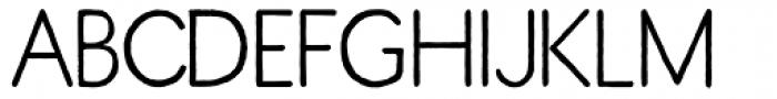 ThinPen Font UPPERCASE