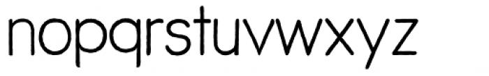 ThinPen Font LOWERCASE