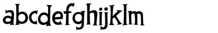 Thingamajig Font LOWERCASE