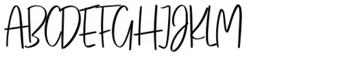 Think Pink Regular Font UPPERCASE