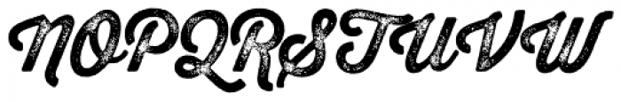 Thirsty Rough Bold Three Font UPPERCASE
