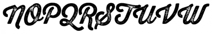 Thirsty Rough Bold Two Font UPPERCASE