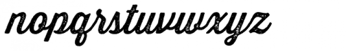 Thirsty Rough One Font LOWERCASE