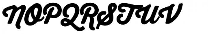 Thirsty Soft Black Font UPPERCASE