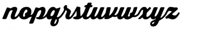 Thirsty Soft Black Font LOWERCASE