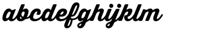 Thirsty Soft Extrabold Font LOWERCASE