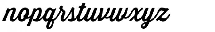 Thirsty Soft Medium Font LOWERCASE