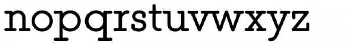 This Serif Font LOWERCASE