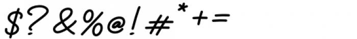 Thoderan Notes Regular Font OTHER CHARS