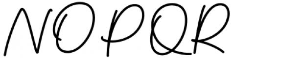 Thoderan Notes Regular Font UPPERCASE