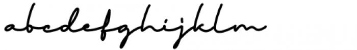 Thoderan Notes Regular Font LOWERCASE