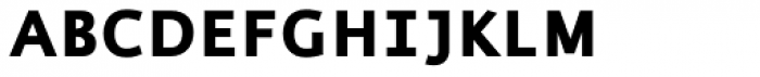 Thordis Sans EF Bold SC Font LOWERCASE