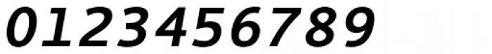 Thordis Sans Mono EF Bold Oblique Font OTHER CHARS