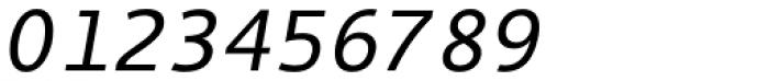 Thordis Sans Mono EF Oblique Font OTHER CHARS