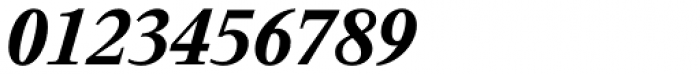 Thorndale Std Bold Italic Font OTHER CHARS