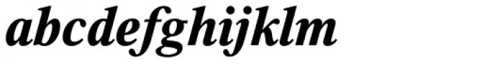 Thorndale Std Bold Italic Font LOWERCASE