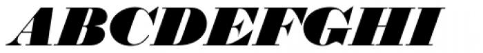 Thorowgood D Italic Font UPPERCASE