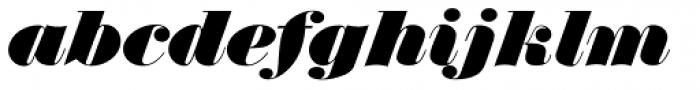 Thorowgood D Italic Font LOWERCASE