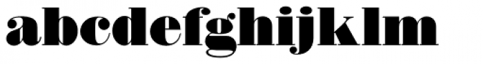 Thorowgood D Font LOWERCASE