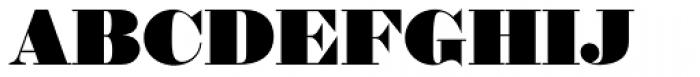 Thorowgood EF Font UPPERCASE