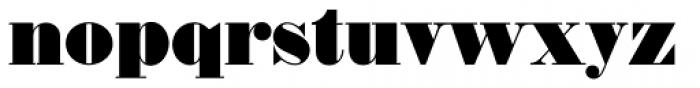 Thorowgood EF Font LOWERCASE
