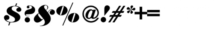 Thorowgood Italic Font OTHER CHARS