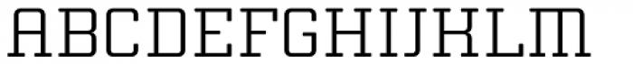 Thousands Light Font UPPERCASE