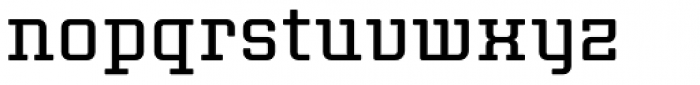 Thousands Font LOWERCASE