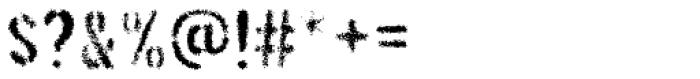 Threefortysixbarrel Exhaust Font OTHER CHARS