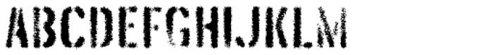 Threefortysixbarrel Exhaust Font LOWERCASE