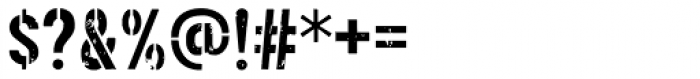 Threefortysixbarrel Intake Font OTHER CHARS