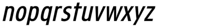 Threepoints West Italic Font LOWERCASE