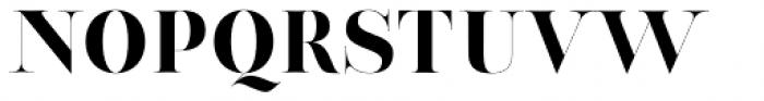 Thrift Regular Font UPPERCASE