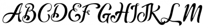 Thrones Solid Font UPPERCASE