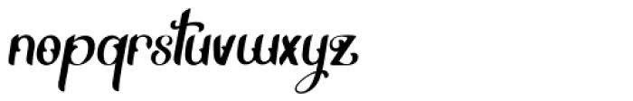 Thrones Solid Font LOWERCASE
