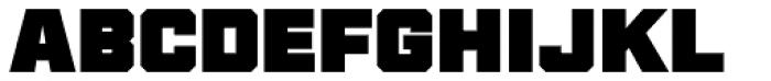 Thud Black Font UPPERCASE
