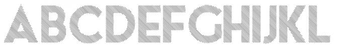 theLUXX Multiline Font UPPERCASE