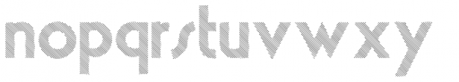 theLUXX Multiline Font LOWERCASE