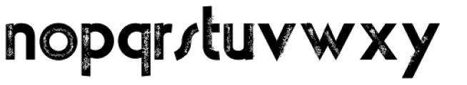 theLUXX Vintage Font LOWERCASE