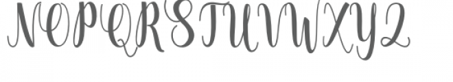 Thatch Font UPPERCASE