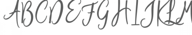 The Author Font UPPERCASE
