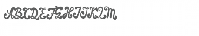 The Foughe Font UPPERCASE