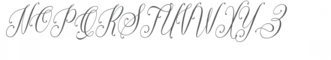 The Singers Font UPPERCASE