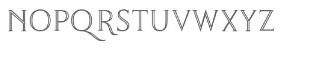Thirsk Carved Font by TTF Font LOWERCASE