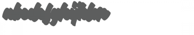 Throttles Shadow Font LOWERCASE